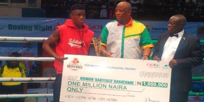 RILWAN BABATUNDE SHINES ON GOTV BOXING CARD - Boxing Africa